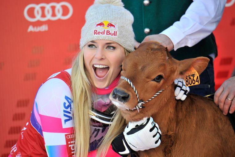Alpineskiën, Lindsey Vonn Beeld .
