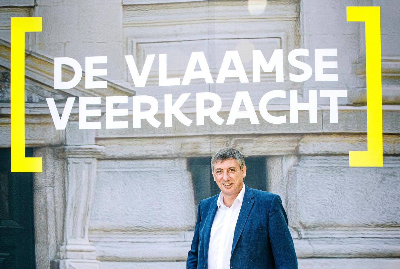 De ploeg van minister-president Jan Jambon krijgt haar megaproject 'Vlaamse veerkracht' maar moeilijk verkocht. Beeld Sebastian Steveniers