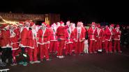 400 kerstmannen lopen voor kids uit kansarme gezinnen