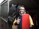 Foto van Rob van Daal met paard.