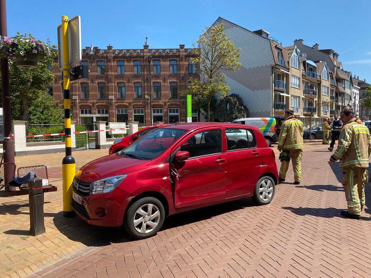Ongeval Kerkstraat Wenduine