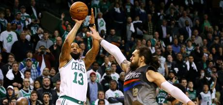 Celtics in laatste seconde langs Thunder