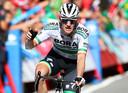De Ier Sam Bennett won al twee etappes in de Vuelta.