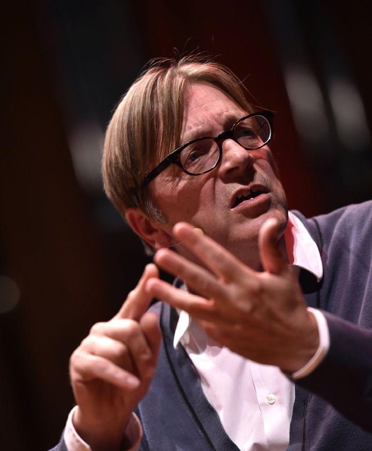 Guy Verhofstadt. Beeld PHOTO_NEWS