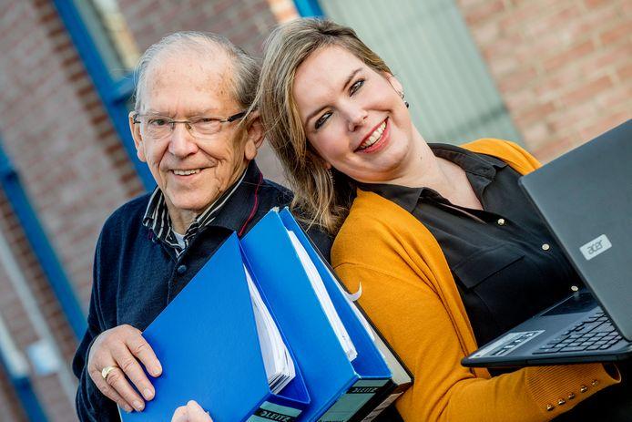 Priscilla Hommerson (rechts) van Zorg Op Maat Thuis in Opheusden.