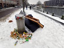 Apeldoorner Marc zet vervuilende schaatsers ludiek te kakken: 'Ding dong, afdeling gevonden voorwerpen hier!'