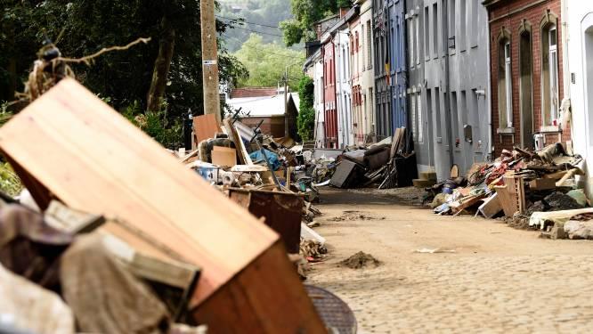"""Geen elektriciteit, water of gas na felle overstromingen: """"Zeker meer dan 10.000 mensen moeten op zoek naar nieuw onderkomen"""""""