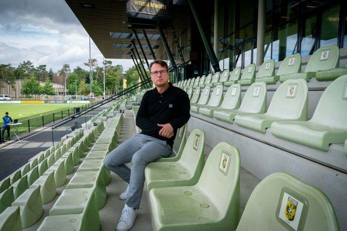 Johannes Spors, de technisch directeur van Vitesse. De Duitser wil deze zomer grofweg vijf versterkingen presenteren in Arnhem.
