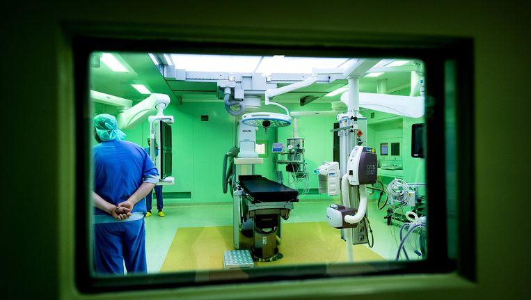 Operatiekamer in het operatiecentrum van het Academisch Medisch Centrum Beeld anp