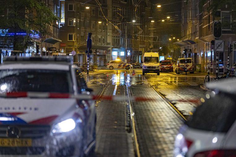 De omgeving rond de plaats van het incident werd in de wijde omtrek afgezet. Beeld ANP