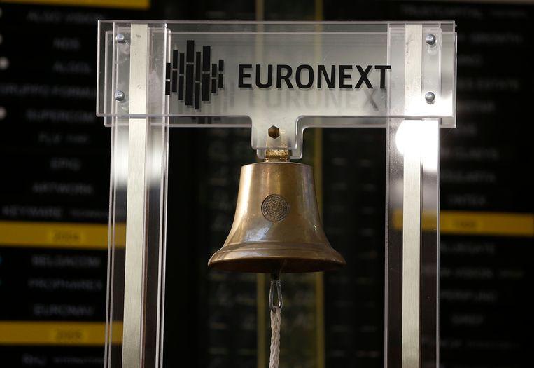 De Euronext-beurs in Brussel. Beeld BELGA