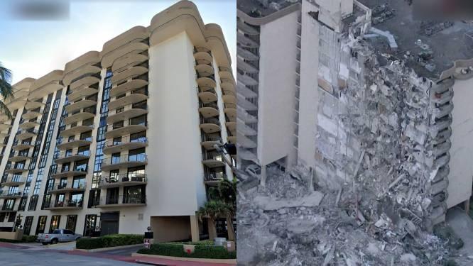 Groot appartementencomplex deels ingestort in Miami: minstens één dode, nog 51 mensen vermist