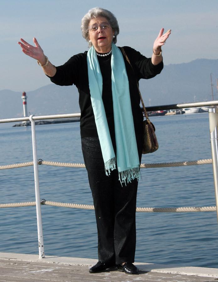 Christa Ludwig, en 2008, à Cannes