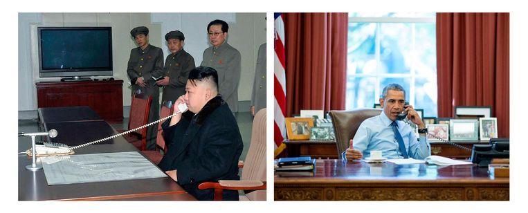 Beeld Korean Central News Agency/the White House