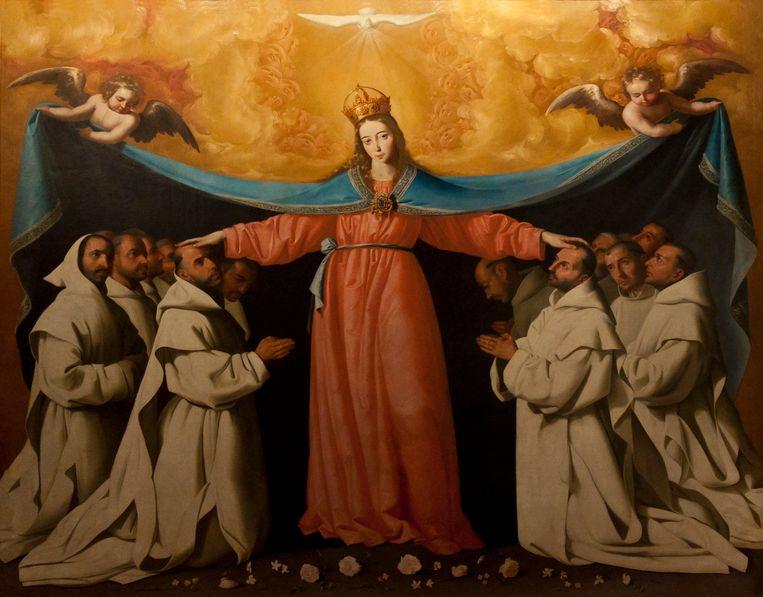 Francisco de Zurbarán, La virgen de los cuevas, 1655. Beeld Wikipedia