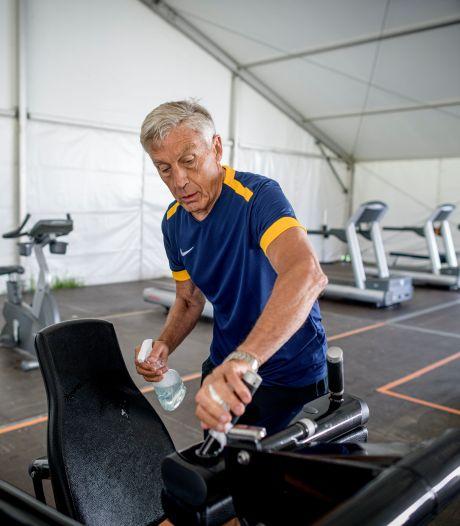 Sporten onder een mega-overkapping in Hengelo: 'De sportschool is nog nooit zo schoon geweest'