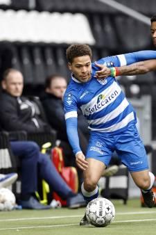 Debuut Konterman eindigt in een deceptie voor PEC Zwolle