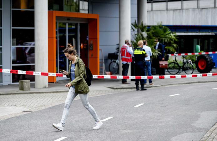 Vorig jaar vond de gijzeling van een vrouw plaats op het Mediapark in Hilversum.