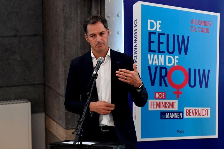 Open Vld trekt resoluut de feministische kaart, zeker sinds kopstuk Alexander De Croo zijn boek 'De eeuw van de vrouw' lanceerde. Beeld BELGA