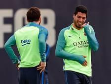 Suárez geblesseerd aan hamstring