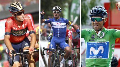 Overzicht: selecties voor het WK wielrennen