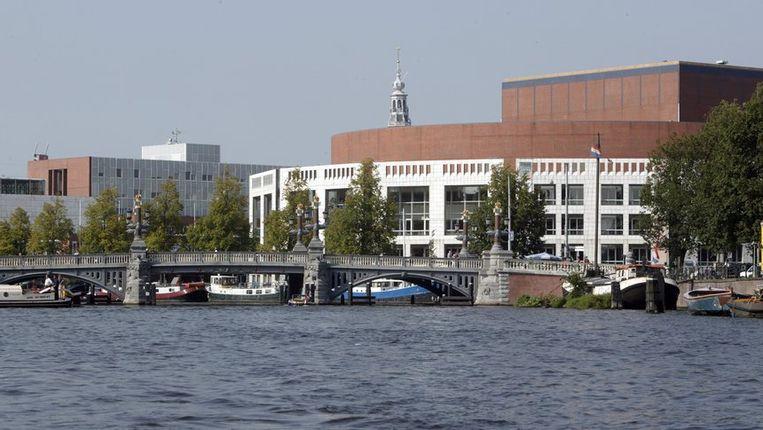 Het stadhuis van Amsterdam. Beeld ANP