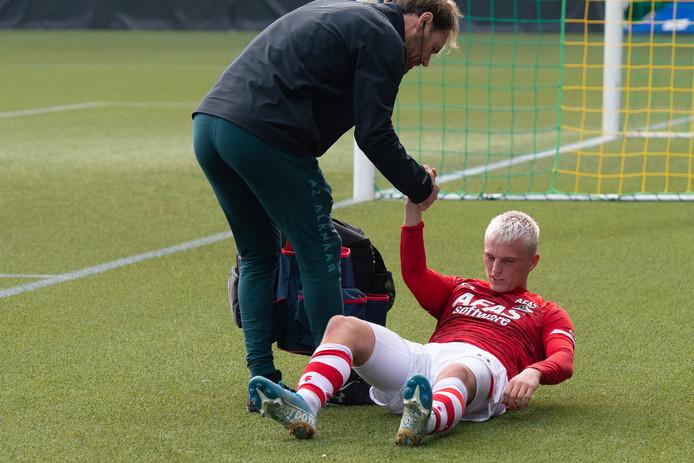 Gudmundsson viel afgelopen zondag geblesseerd uit tijdens een duel met Heracles Almelo.