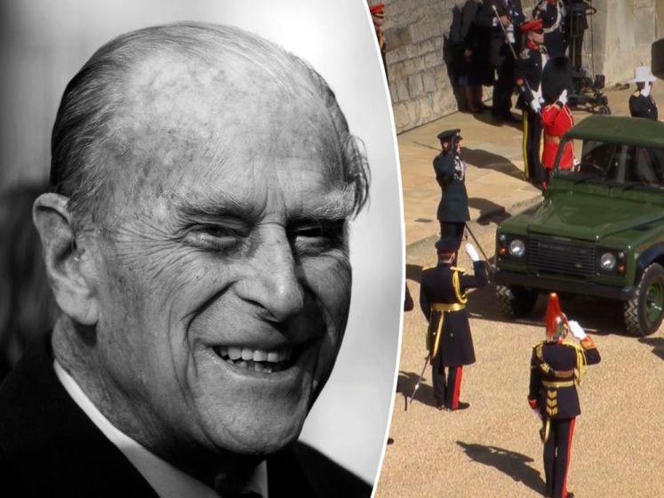 EN DIRECT: la procession funéraire du prince Philip est partie du château de Windsor