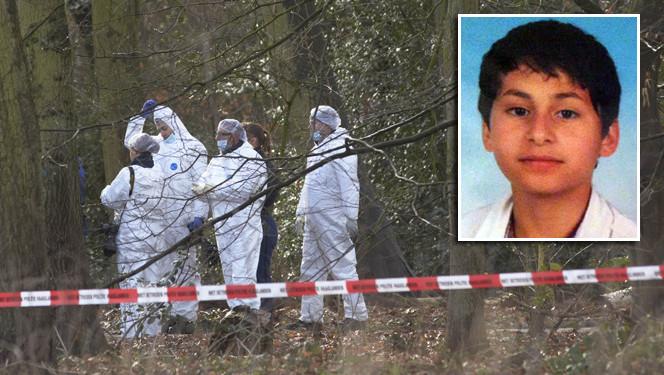 Politie-onderzoek in het Wassenaarse bos na de dood van Anass Aouragh