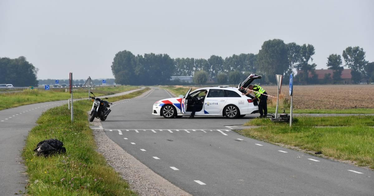 Fietser die betrokken was bij ongeluk IJzendijke is overleden.