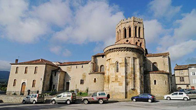 De kathedraal van Saint-Lizier. Beeld Wiki