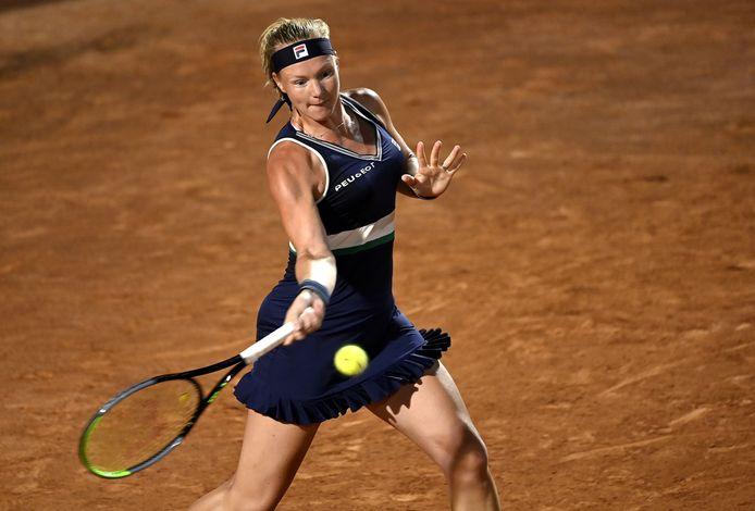 Kiki Bertens op het toernooi in Rome in september 2020.