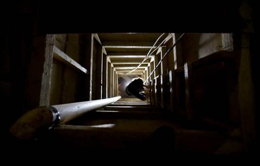 De 1,5 kilometer lange tunnel