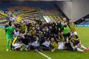 Vitesse bereikte de finale dor thuis met 2-0 te winnen van VVV-Venlo.