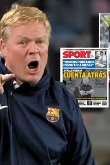 Spaanse kranten zien vertrek Koeman naderen: 'Barcelona aast op tandem Martínez/Henry'