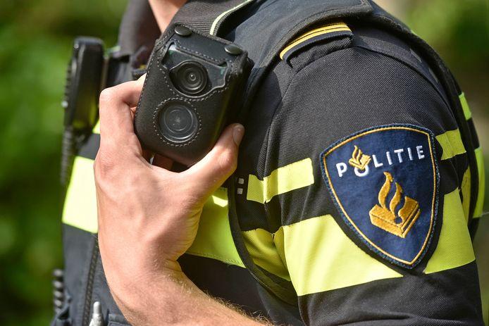 Bodycam bij een politieagent