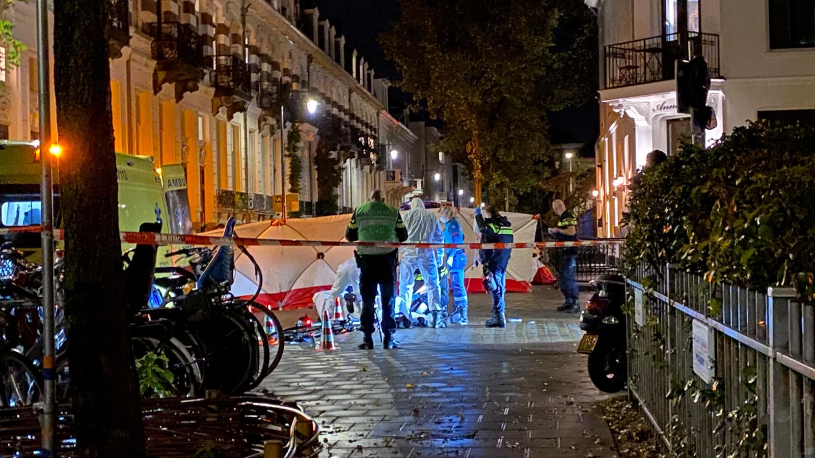 Onderzoek aan de Spijkerstraat in Arnhem na de mishandeling van Jan (73).