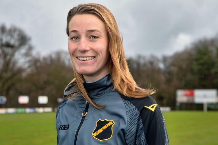 Pleun van Ginneken is sportpsychologe en verbonden aan NAC Breda.