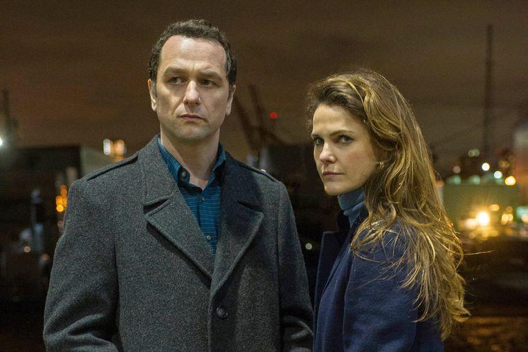 Still uit 'The Americans'.  Beeld Netflix