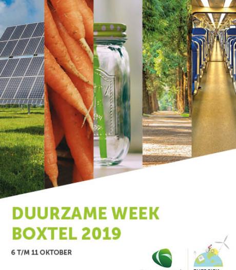 Programma Duurzame Week Boxtel bekend