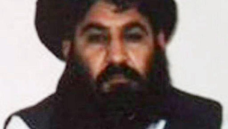 Taliban-leider Mullah Akhtar Mansoor. Beeld EPA