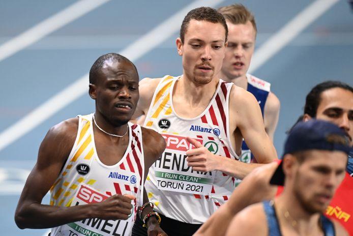 Isaac Kimeli en Robin Hendrix liepen al samen op kampioenschappen.