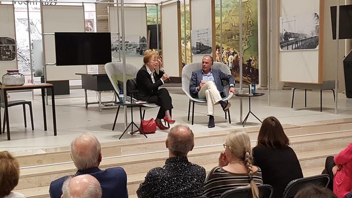 Sonja Barend sprak een dik uur met journalist Twan van den Brand