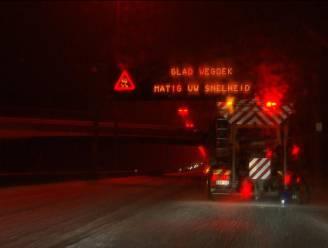 Wees voorzichtig: wegen blijven gevaarlijk glad