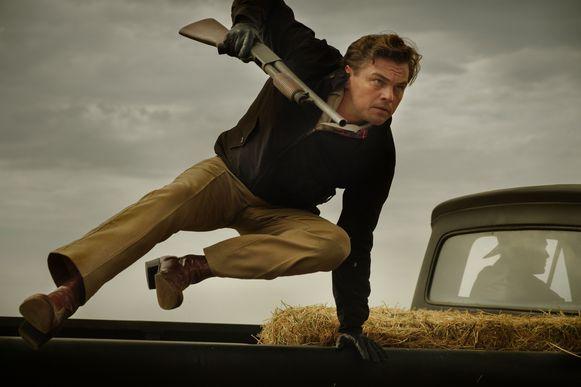 Leonardo DiCaprio aan het werk