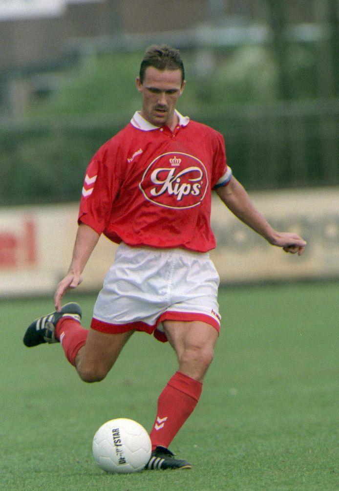 Berry van Aerle als speler van Helmond Sport.
