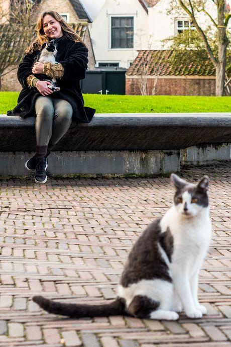 Marinde's 'Kloostertuinkatten' Panda en Beertje zijn populair: 'Koddige namen!'