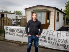 Ook Johan kraakt een standplaats op woonwagenkamp: 'Ik ga hier echt niet weg'