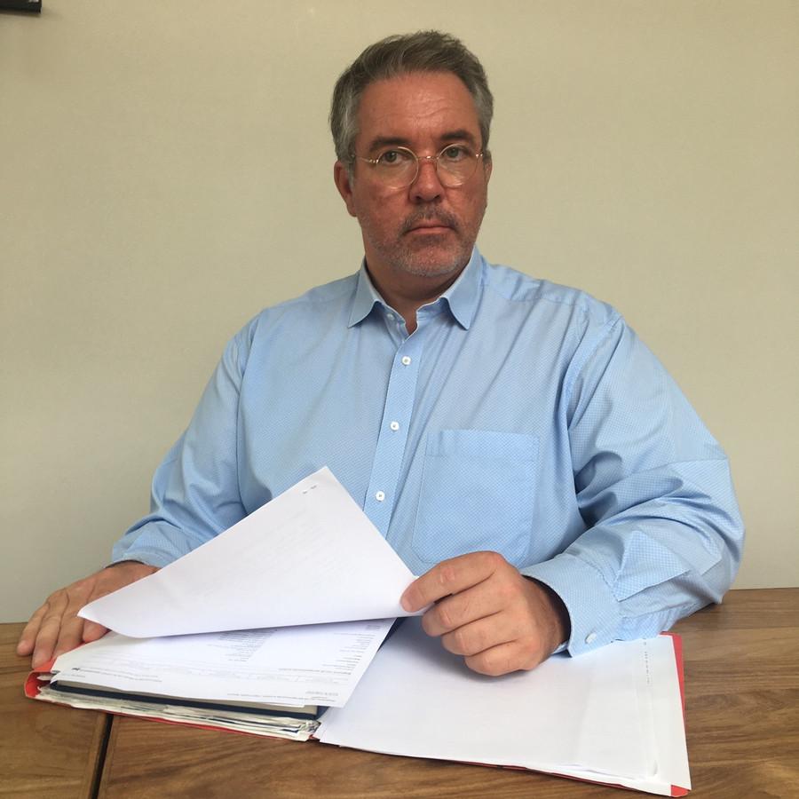 Michael Verstraeten is de advocaat die onder anderen Jeff Hoeyberghs verdedigde in zijn strijd tegen de coronamaatregelen.