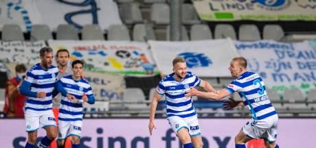 Platje is met bevrijdende goal goud waard voor De Graafschap: 'Hiervoor ben ik terug naar Nederland gekomen'